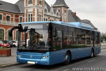 Ukrán buszt teszteltek Miskolcon