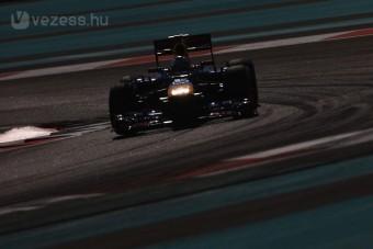 F1: Vettel az élen, Alonso messze