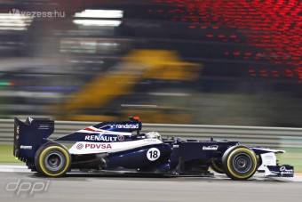 F1: Maldonado KERS nélkül állta a sarat