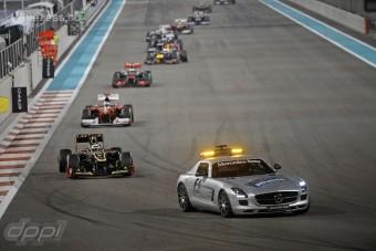 F1: Vettel barátja a biztonsági autó