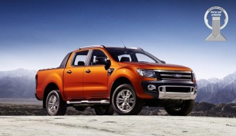 A Ford Ranger a 2013-as Év Pickupja