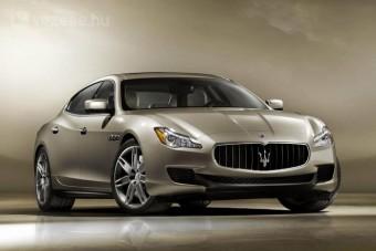 Elegáns az új Maserati Quattroporte