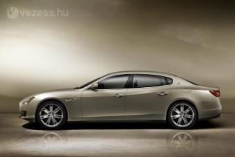 300-as tempót tud az új Maserati