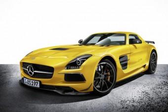 Keménykedik a Mercedes SLS