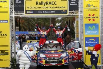Győztesként búcsúzott Loeb a ralitól