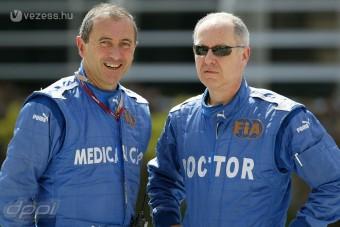 F1: A kirúgott orvost akarják a pilóták