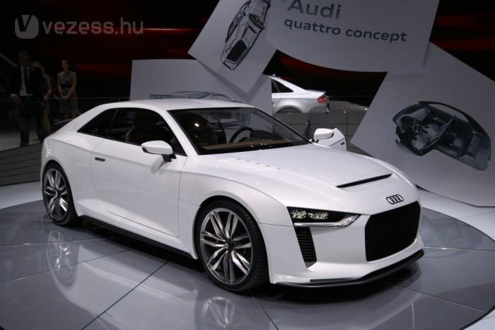 408 lóerős turbómotort rejtett a 2010-es quattro concept