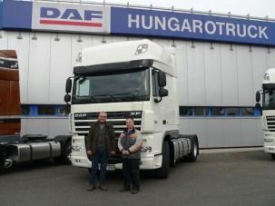 Új DAF érkezett Komáromi Transhoz