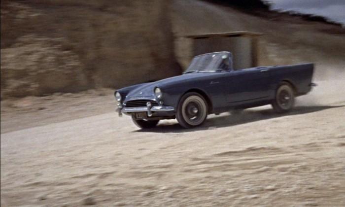 A Dr. No első autós szerepét a Sunbeam Alpine kapta meg
