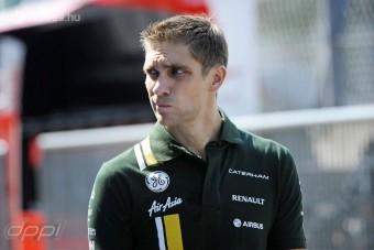 F1: Petrov még a levegőben lóg