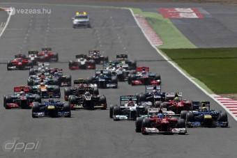 F1: Csak 11 csapat nevezett 2013-ra