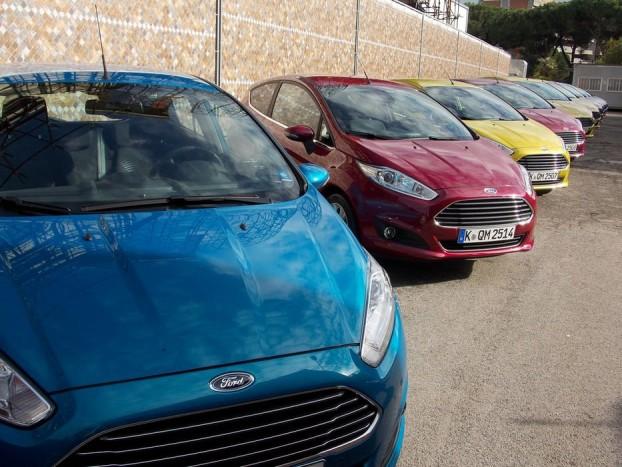 A Fiesta orrában nehéz megtippelni milyen motor lesz, az egyliteres EcoBoost turbóval 100 és 125 lóerővel, turbó nélkül 65 és 80 lóerővel kerül beszerelésre, emellett marad az 1,25 valamint az 1,4 literes benzines, plusz a két dízel