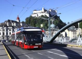 Lengyel BRT trolikat rendelt Salzburg