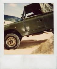 Land Rover és Polaroid