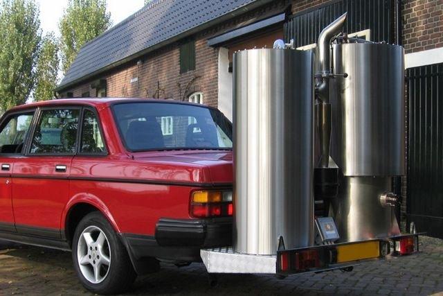 Fagázgenerátoros Volvo egy precíz amatőr mérnöktől