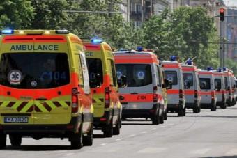 Új mentőautók állnak munkába