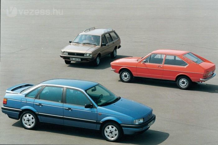 Magas gyártási és beszerzési költségei miatt a Volkswagen nagyon súlyos válságban volt a malacorrú Passat bemutatásakor
