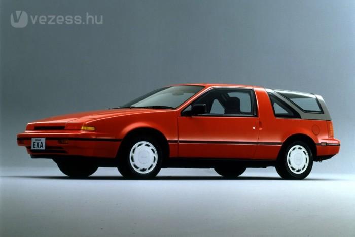 Kupé, kabrió vagy sportos kombi lehetett az 1986 és 1990 között EXA Canopy Type B. Az effajta kreativitás kiveszett a Nissanból 2000 körülre