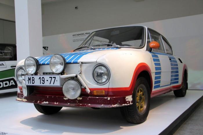 Skoda 130 RS. A csehek sportvérének egyik ékes példája, zárt pályákon, ralikon egyaránt komoly sikereket ért el