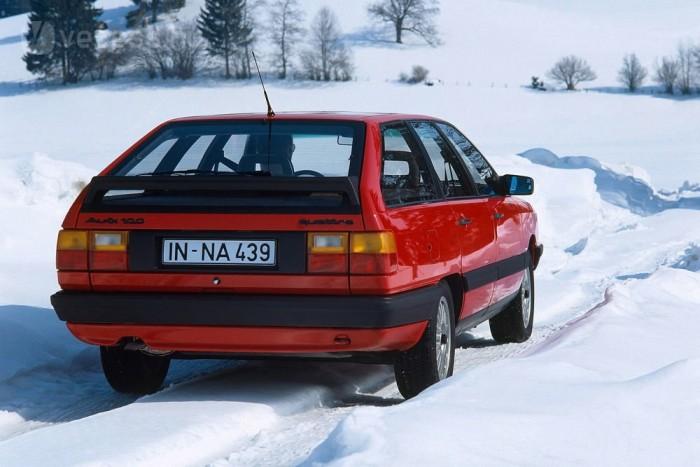 Az 1986-os modellévtől az 1,8-as négyhengeres is kapható volt összkerékhajtással, de dízelmotorral csak az utódban jelent meg a quattro
