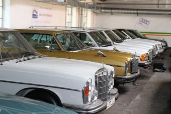 Különleges sztorik egy Mercedes-gyűjtemény körül