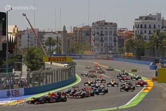 F1: Szétlopták a valenciai pályát