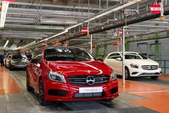 Rekordévet zárt a Mercedes