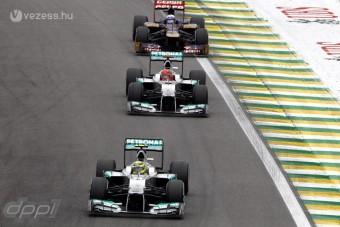 F1: Az aerodinamikán úszott el a Merci éve?