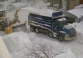 Kanadában már aratják a havat