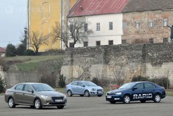 Teszt: Škoda Rapid, Peugeot 301, Chevrolet Aveo