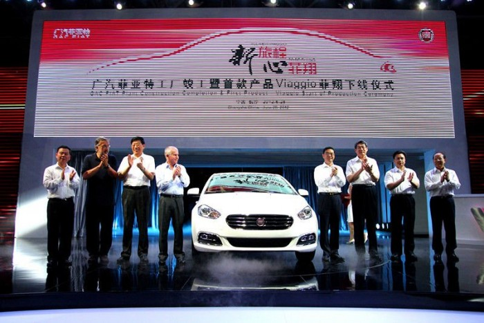 A Viaggio (Linea) gyártásával indult a GAC és a Fiat-Chrysler együttműködése