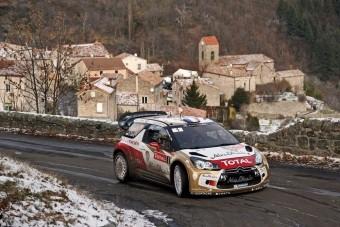 Loeb növelte előnyét Monte-Carlóban