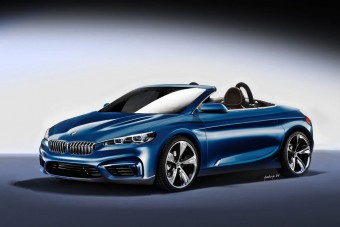 BMW Roadster fronthajtással