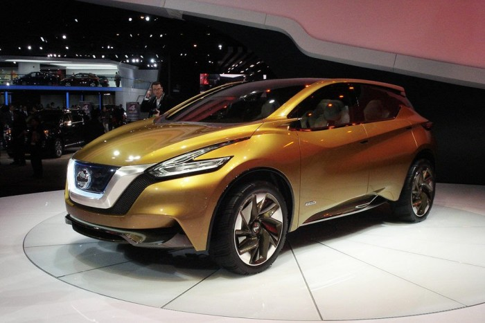 Nissan Resonance-koncepció: arra hivatott hogy az új Murano és Qashqai formáit vetítse előre. Arányaiban szerintem rendben van, és a részletek is tetszetősek