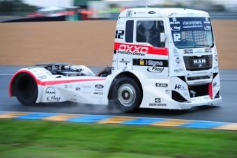 Új pályák a kamionversenyeken