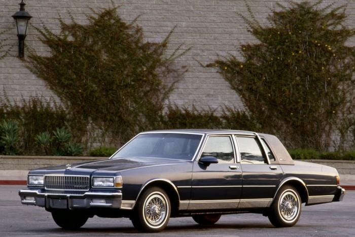 Chevrolet Caprice: a korszak zászlóshajója