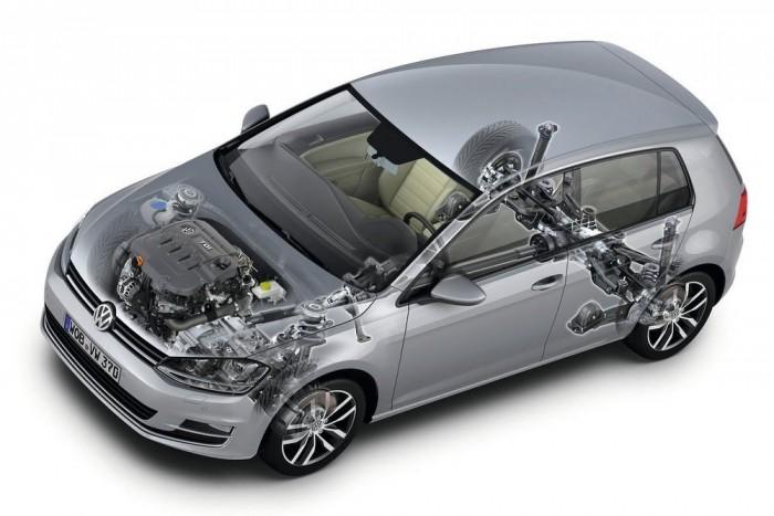 95 kilóval nehezebb, 5 km/órával lassabb, 1 dB(A)-val zajosabb a 4Motion, mint az elsőkerék-hajtású kivitel. Öt literrel nagyobb üzemanyag-tartályt is kap annál.