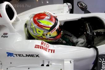 F1: Nem lesz dolga a tesztpilótának