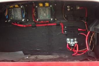 Multiplexelt elektromos rendszer