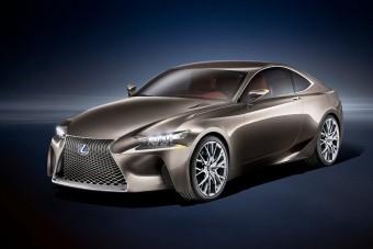 Jöhet a Lexus izomkupéja