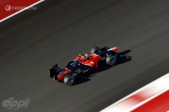F1: A Marussia is megérkezik a tesztre