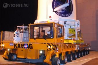 Űrprojekt teherautó-abroncsokkal