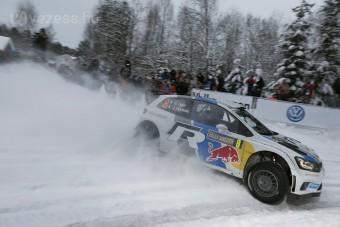 A Volkswagen nyerte a Svéd-ralit