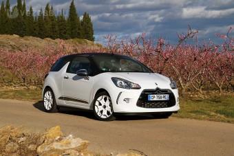 16mp alatt vetkőzik: Citroën DS3 Cabrio