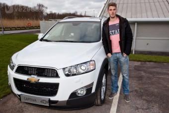 Olcsó autóban a focisztárok