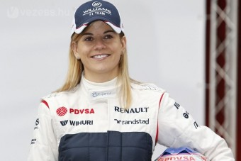 F1: Családilag nyomatják a női pilótát