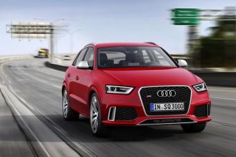 310 lóerős turbómotorral jön az Audi RS Q3