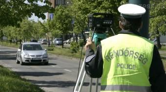 Szabályos autósokat büntetett a rendőrség