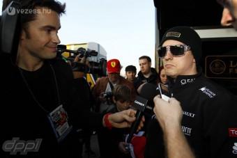F1: Räikkönen kidőlt a tesztről