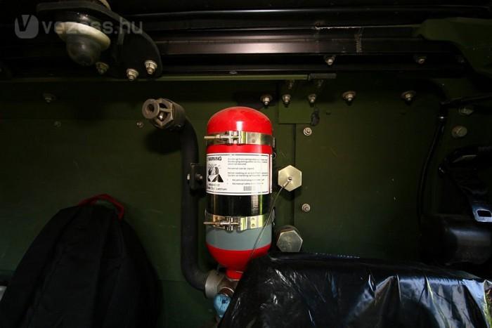 Ha bajt szimatol, magától aktiválódik a tűzoltó rendszer